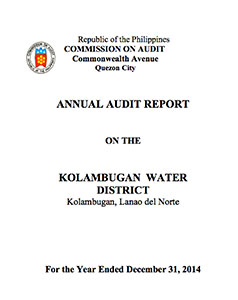Annual Audit Report CY 2014