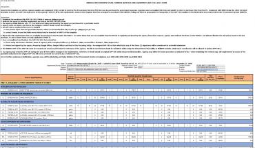 Annual Procurement Plan Non-CSE CY 2021